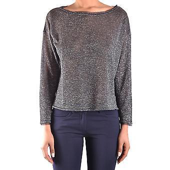 Spago Donna Ezbc300001 Women's Grey Viscose Sweater