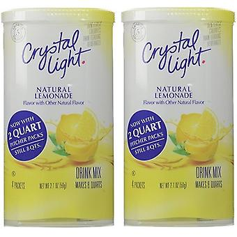 Crystal Light limonata bevanda mix brocca confezioni 2 Pack