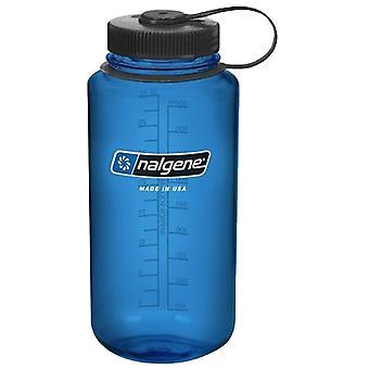 Nalgene Blue Tritan Wide Mouth Loop Top Bottle 1L