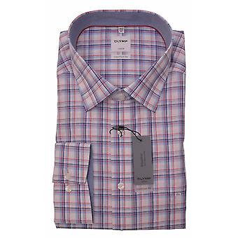 OLYMP Olymp Check Formal Long Sleeve Shirt