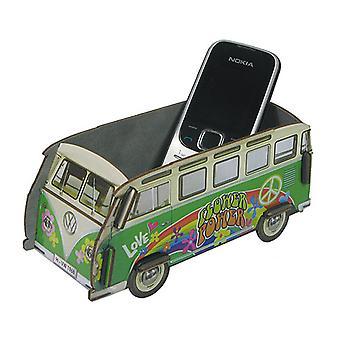 Official VW Camper Van Small Desk Tidy Organiser - Green