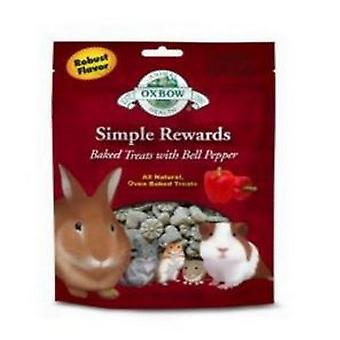 Oxbow Simple Rewards Bell Pepper Flavoured Baked Treats