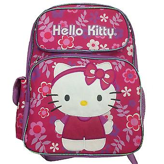 Small Backpack - Hello Kitty - Flower Headband School Bag 631468