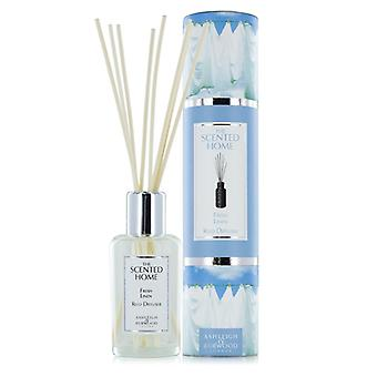 Ashleigh & Burwood Scented Home 150ml Reed Diffuser Gift Set Fresh Linen