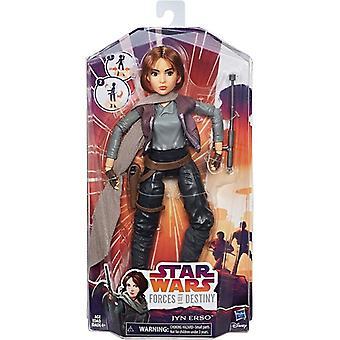 Star Wars Forces of Destiny: Jyn Erso, doll 28 cm