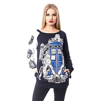 Heartless - doctor who villians - womens sweater top- official dr who merch