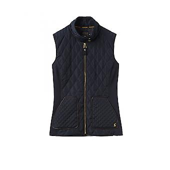 Joules Braemar Donne Quilted Gilet - Marine Navy Blue