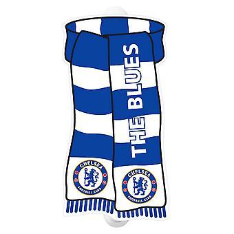Chelsea FC fútbol muestran su letrero de ventana de colores