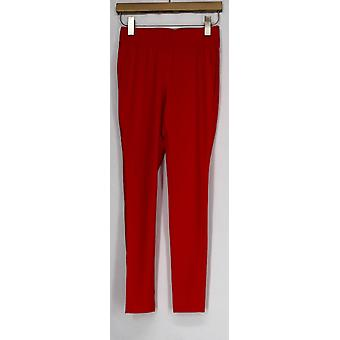 Slimming Options for Kate & Mallory Leggings Shaping Cropped Red A408576