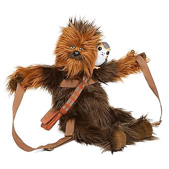 Star Wars Chewbacca with Porg Backpack