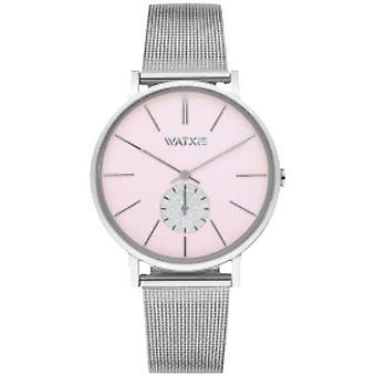 Watx&colors iris Quartz Analog Woman Watch with WXCA1016 Stainless Steel Bracelet