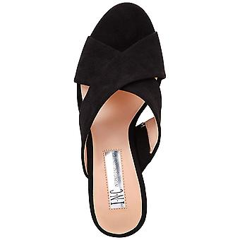 INC International Concepts Womens Madalyn Fabric Open Toe Special Occasion Sl...