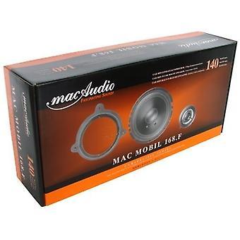 Áudio Mac Mac 168.F móvel, sistema de componente de 2 vias, 1 par