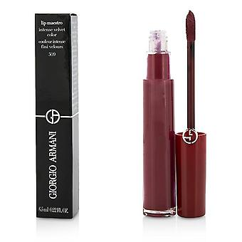 Giorgio Armani Lip Maestro Lip Gloss - # 509 (ruby Nude) - 6.5ml/0.22oz