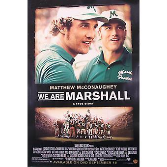 Olemme Marshall (yksipuolinen video) alkuperäinen video/DVD-mainos juliste
