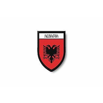 التصحيح Ecusson Termocollant حافة برودي العلم يطبع الألبانية الألبانية
