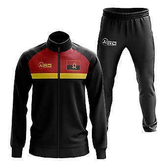 Angola concept voetbal trainingspak (zwart)