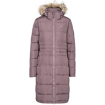 Trespass Phyllis Ladies Long Length Down Jacket