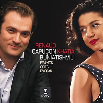 Renaud Capucon - Franck Grieg Dvorak: Sonatas for Violin & Piano [CD] USA import