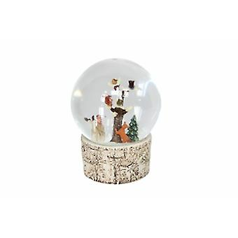 Gisela Graham Woodland Animals Musical Snow Dome