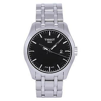 Tissot Men's Couturier Reloj de esfera negra - T0354101105100