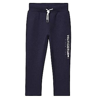 Tommy Hilfiger Boys Tommy Hilfiger Kids Navy Flag Interlock Pants