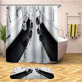 Yachts' Fenders Shower Curtain