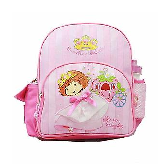 Small Backpack - Strawberry Shortcake - w/Water Bottle New School Bag 34093