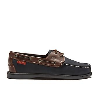 Chatham Men's Commodore Leather Boat Shoes
