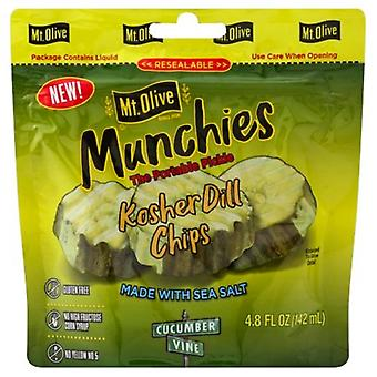 Mt. Olive munchies den bærbare pickle Kosher dill chips