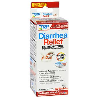 The relief products diarreah relief, fast dissolving tablets, 50 ea