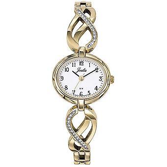 Horloge Certus 630562-JOALIA Bo tier staal dor ronde vrouwen dor stalen armband