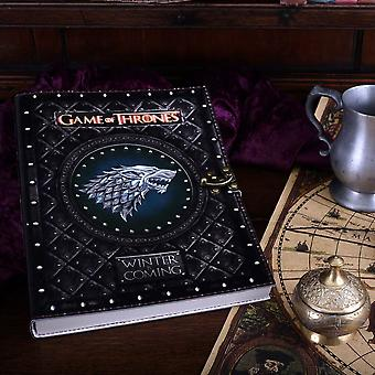 Game of Thrones Winter is Coming Large Journal