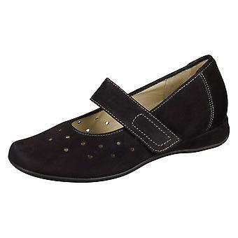 Hassia Petra Black Lightnubuk 73017210100 universal all year women shoes
