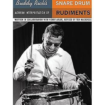 Buddy Rich's Modern Interpretation of Snare Drum Rudiments by Buddy R