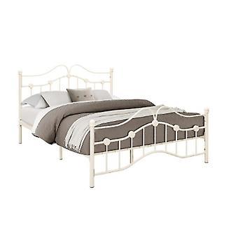 135CM CANTERBURY BED CREAM