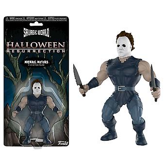 Halloween Michael Myers Savage World Figure
