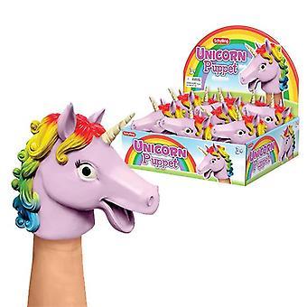 Schylling - unicorn hand puppet