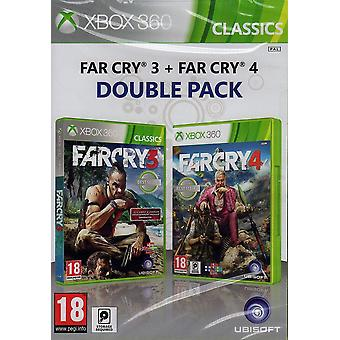 Far Cry 3 & Far Cry 4 Double Pack Xbox 360 Game