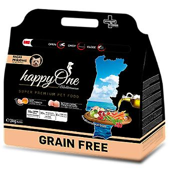 Happy One Mediterraneum Adult Small Breeds (Dogs , Dog Food , Dry Food)
