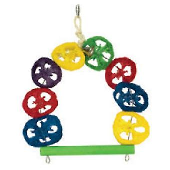Arquivet Swing Colorful 1 Campana (Birds , Bird Cage Accessories , Toys , Swings)
