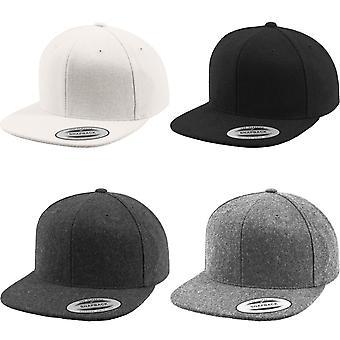 Flexfit By Yupoong Melton Wool Snapback Cap