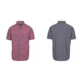 Trespass Mens Uttoxeter Short Sleeve Cotton Shirt