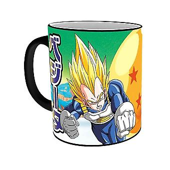 Dragon Ball Z Saiyans Heat Change Mug