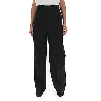 Rick Owens Rp19f5317zl09 Women's Black Wool Pants