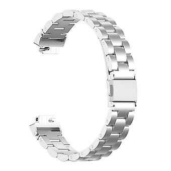 Watch strap compatible with Fitbit Inspire-Silver