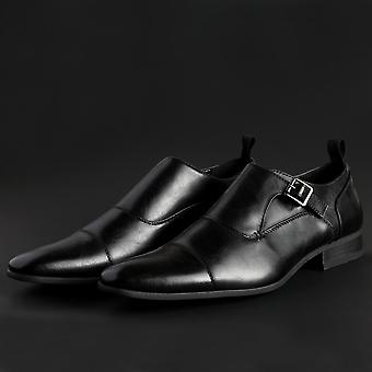 Duca di Morrone Original Men All Year Flat Shoe - Black Color 30100