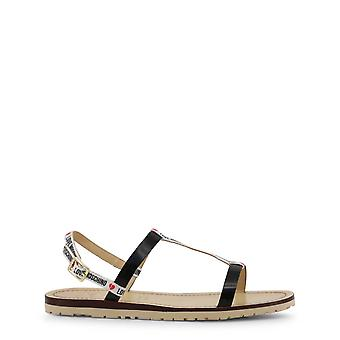 Love Moschino Original Women Spring/Summer Sandals - Black Color 34565