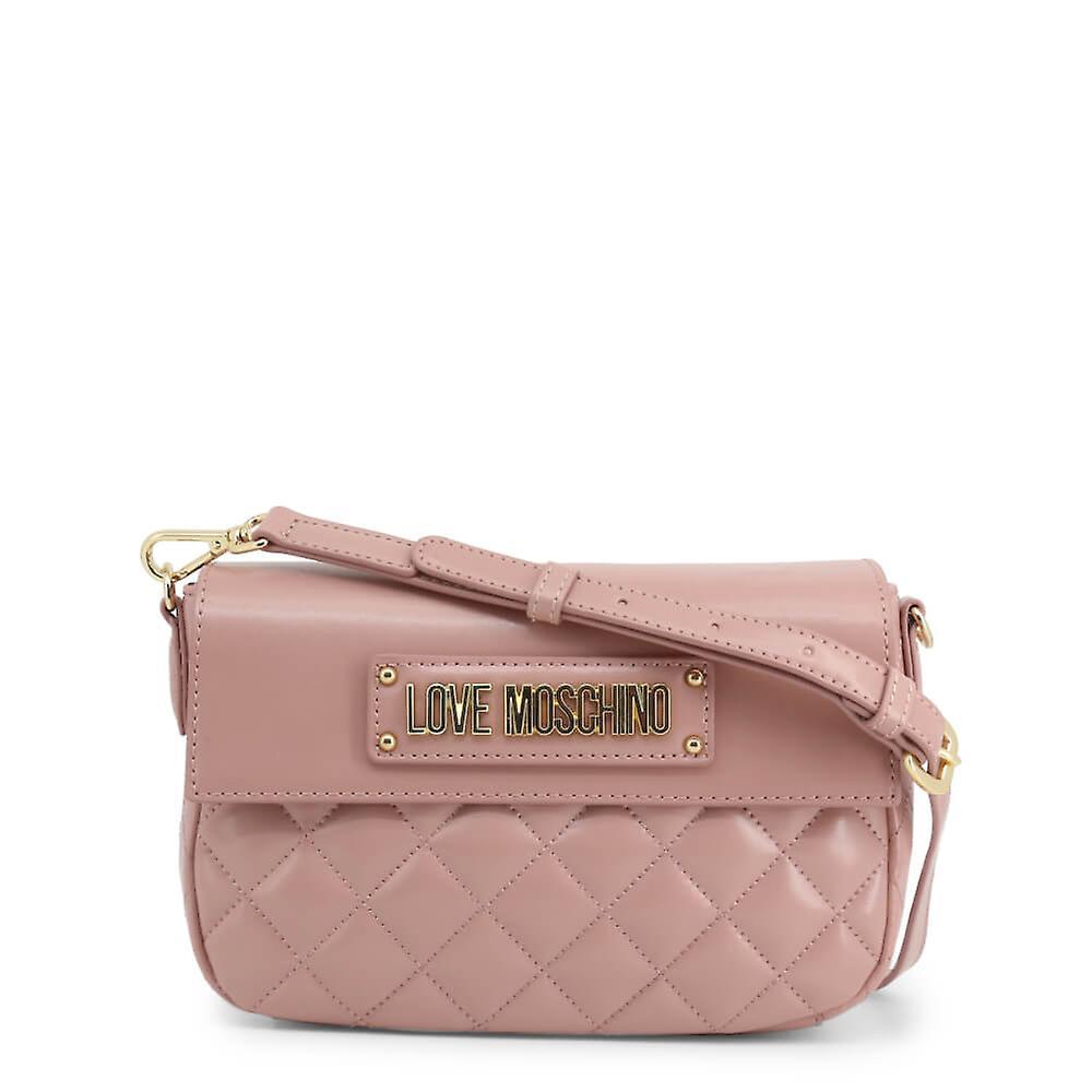 Love Moschino Original Women FallWinter Crossbody Bag Pink Color 37952