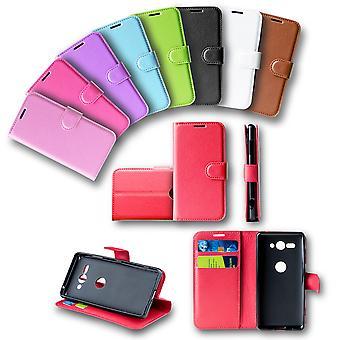 Für Nokia 2.3 Tasche Wallet Premium Schwarz Schutz Hülle Case Cover Etuis Neu Zubehör